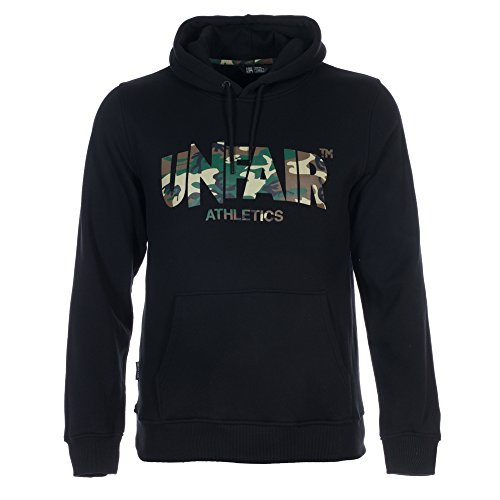UNFAIR ATHLETICS Herren Oberteile / Hoody Classic Label Black Camo