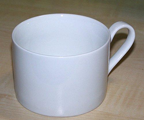 Grand Stocks Tassen Kaffee Porzellan Kaffeetassen 12er-Set Tee Teetassen Becher Weiß 0,2 - Porzellan Aus Weißem Tee-set