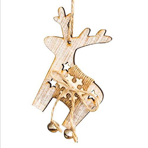 Mitlfuny Weihnachten DIY Home Decor 2019,Weihnachtsdekor Geschenke Holz AnhäNger Baum Ornament Party Home HäNgen Dekor