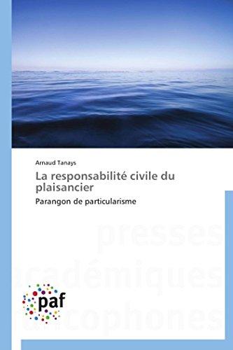La responsabilité civile du plaisancier