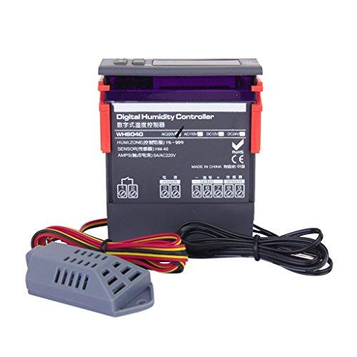 1 X digital Luft Luftfeuchtigkeit steuern Regler WH8040