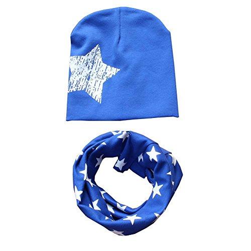 patgoal Baby berretto o-ring sciarpa ragazze bambini bambino sciarpa cappelli