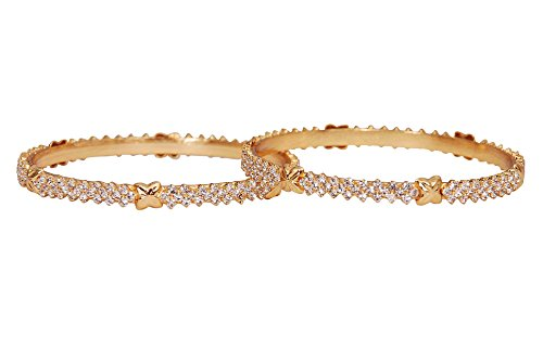 Jewbang Gold plated Bangles for women JB9055A