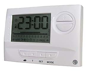 Tibelec 986610 Thermostat mural programmable pour Radiateur électrique