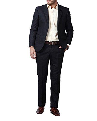 Lee-Marc-Mens-Button-Down-Pant-Suit-Navvy-Blue-Coat-Suit-For-Mens40-Blue-40