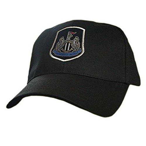 Newcastle United F.C.WB - Berretto da baseball per adulti, 58cm, con banda regolabile in velcro e marchio ufficiale ricamato, prodotto con licenza ufficiale - White Golf Cap