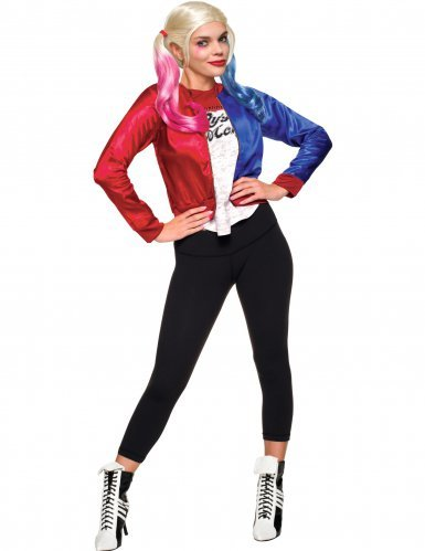 Suicide Squad Harley Quinn Costume Kit L (UK 12-14)