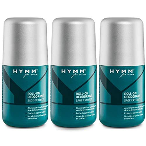 Desodorante Roll-On HYMM x 3 sin sales de alumi .