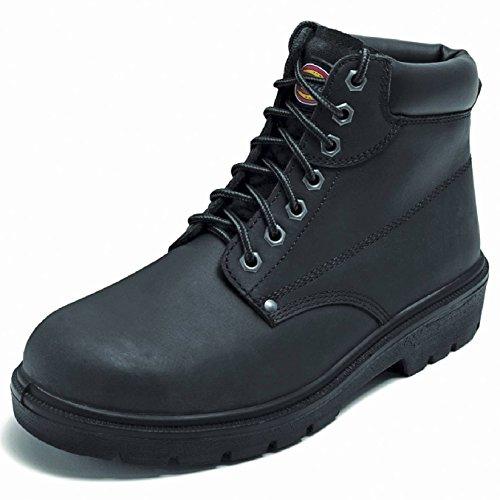 Dickies Antrim Super Safety Boot- - Black - UK 10 / US 11 / EU 44 Black Super Street Boot