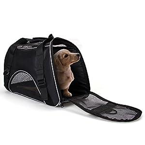 Tragetasche für Katzen - Transportbox hundebox Haustiertragetasche Kleintiere Box für Hunde Katzen Tragetasche Haustier Tragetasche Reise Trägerkäfig