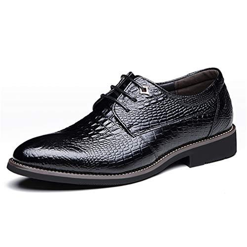 Qianliuk Männer Oxford Dress Schuhe Buckle Leder Hochzeitsschuhe (Izod-uniformen)