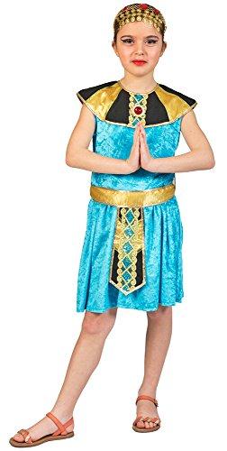 Funny Fashion Cleopatra Kostüm für Mädchen - Türkis -