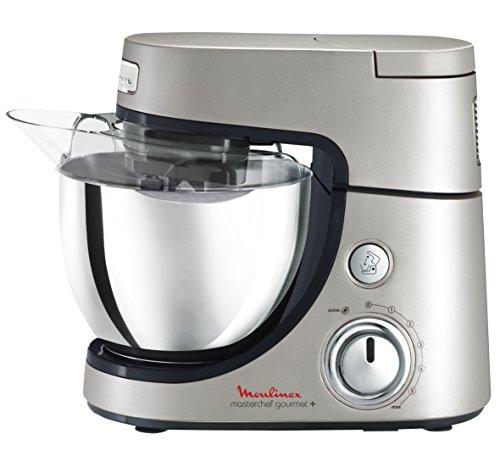 Moulinex QA600HB1 Robot Pâtissier Masterchef Gourmet Argent