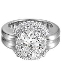 Esprit - ESRG91585A - Opulence - Bague Femme - Argent 925/1000 14.6 gr - Cristal - Oxyde de zirconium - Blanc