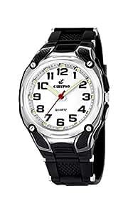 Calypso watches - K5560/4 - Montre Garçon - Quartz Analogique - Bracelet Plastique Noir