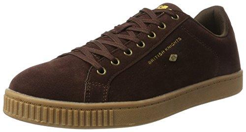 British Knights Herren Duke Sneaker Braun (Dk Brown/Crepe) 42 EU