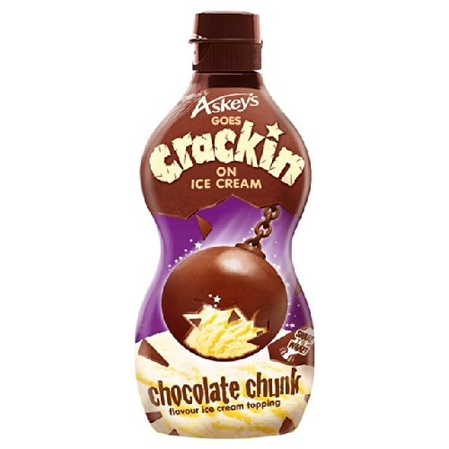 Askeys Choc Chunk Crackin' Ice Cream Topping 225g Test