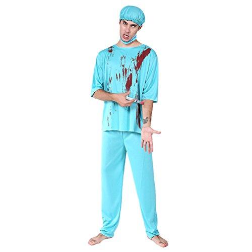 Zhhlinyuan [Halloween Kostüm Herren Fashion Maskenspiel/Halloween Costume für -