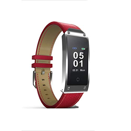 XJRHB GPS-Positionierung hob Armbanduhr Puls Smart Puls Smart Uhr (Farbe : Red)