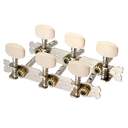 Sharplace 6er-Set Strings Tuning Pegs Mechaniken für Akustikgitarre Klassikgitarre