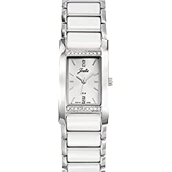 Joalia Women's Analogue Watch with Money Dial Analogue Display and Stainless steel plated Bicolour - 631132