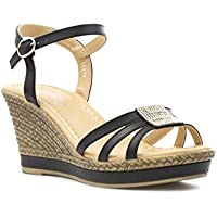 22a3f6dca01 Shoe Zone @ Amazon.co.uk: Lilley - Sandals / Womens