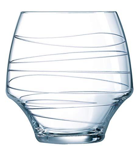 Chef&Sommelier AVE1340062 Gobelet Open Up Arabesque, 38 cl, en cristallin, Transparent