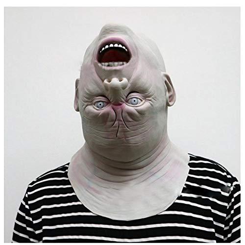 YAX Masken Halloween Erwachsenen Maske Zombie Maske Latex Bloody Scary Alien Teufel Vollgesichtsmaske Kostüm Party - Cute Alien Kostüm Für Erwachsene