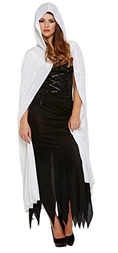 Kostüm Velvet Devil Cape (Cape Weißen Einem Mit Kostüme)