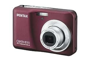 Pentax Optio E90 Appareil photo numérique 10,1 Mpix Bordeaux