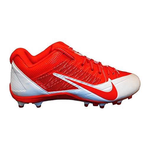 Nike , Herren American Football Schuhe orange/weiß -