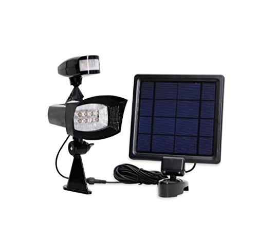 LED-Solar-Infrarot-Sensor beleuchtet Garten-Scheinwerfer Drehbare Solar-Lade Wandleuchten Gang/Hof/Balkon/Square/Park Umweltschutz Energiesparende Beleuchtung