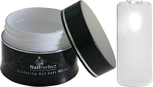 nailper Purr-fect Premium Sculpting de gel UV + + Soft White + + 45 G Épaisseur viskos Top Qualité Pour Vos ongles.