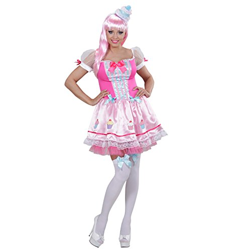 Widmann 01772 - Kostüm Cupcake Mädchen mit Hut, ()