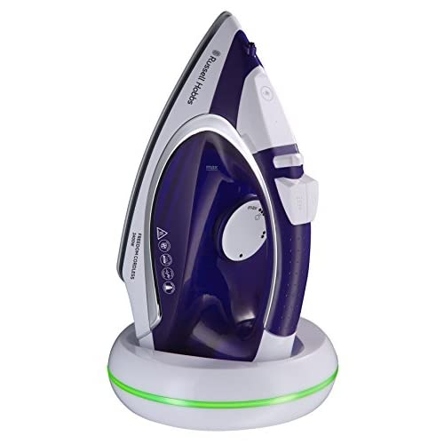 414a9jjd2KL. SS500  - Russell Hobbs 23300 Freedom Cordless Iron, 2400 W, Purple/White, Porcelain
