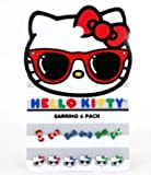 Ohrring Pack – Hello Kitty – NEUE Sanrio Sonnenbrille & Bögen set-6 sane0053