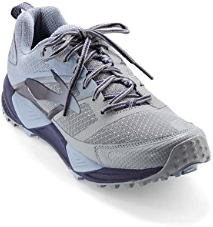 Brooks - Zapatillas para Correr en Montaña de Sintético para Hombre Gris Glacier/Navy/Grey