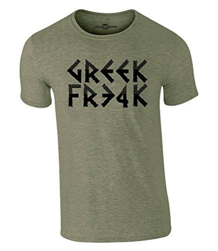 CALWDOMN Greek Freak 34 T-Shirt Giannis Antetokounmpo NBA Milwaukee Bucks Basketball Shirt (M, Grün)