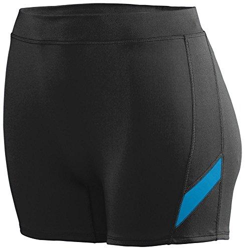 Augusta - Short de sport - Femme Multicolore - Black/Power Blue