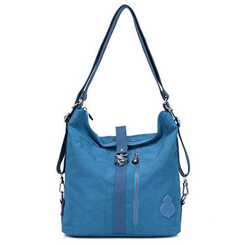 Outreo Schultertasche Wasserdichte Messenger Bag Umhängetasche Damen Handtasche Designer Kuriertasche Rucksäcke Strandtasche Sporttasche für Mädchen Taschen Reisetasche Nylon -