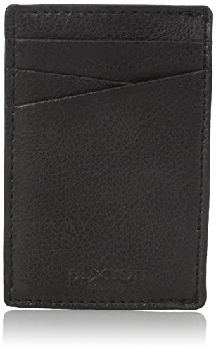 Buxton Men's Addison RFID Blocking Leather Front Pocket Money Clip Wallet - Front Pocket Money Clip
