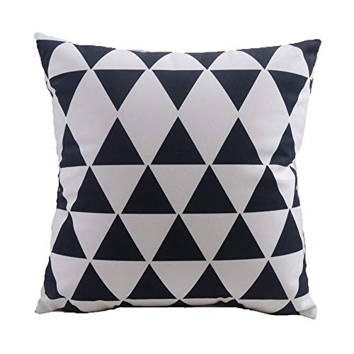 Hysenm Black and White Pattern Series 18