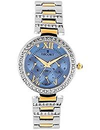 Escort Multifunction Blue Dial Women's Watch- 4220 TM.5