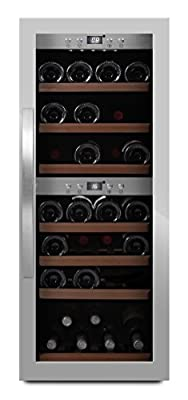 mQuvée - Free-standing wine cooler - WineExpert 38 freestanding wine cooler by Mquve