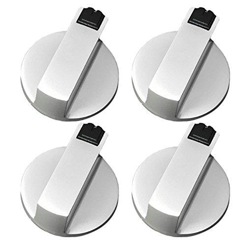 SGerste - Juego de 4 perillas de control giratorias universales de metal...