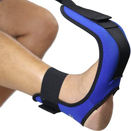 Everyday Medical Correa de estiramiento para pies y piernas para fascitis plantar - estira tu...