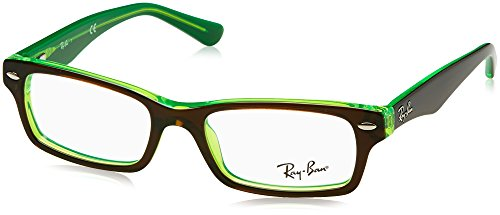 Ray-Ban Mädchen 0RY 1530 3665 48 Brillengestelle, Braun (Topo Brown On Green Fluo),
