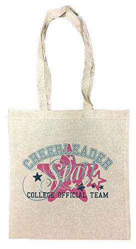 cheerleader-bolsa-de-compras-de-algodon-reutilizable-cotton-shopping-bag-reusable