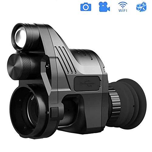 SHENGY Chasse Vision Nocturne numérique Lunette de visée, 200M HD Vision Nocturne portée, 4X ~ 14X Zoom Tactique portée, 25-45Mm Adaptateur, pour Chasseur de Nuit
