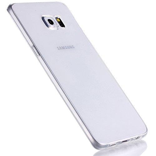 Liamoo dünne r&um TPU Schutzhülle für Samsung Galaxy S6 Edge Plus klar/transparent